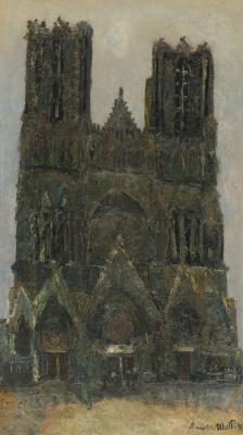 Морис Утрилло. Реймсский кафедральный собор