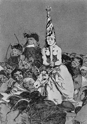 Francisco Goya. Donkey
