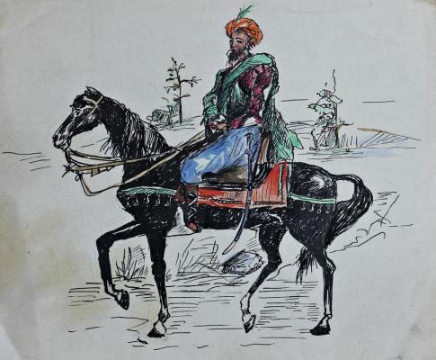 Lev Yakovlevich Rubinstein. Rider