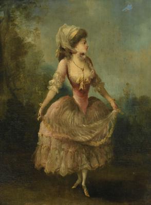 Jean-Frederick Schall. Dancing girl
