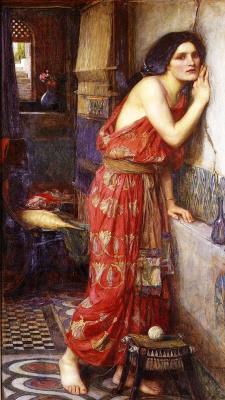John William Waterhouse. Thisbe