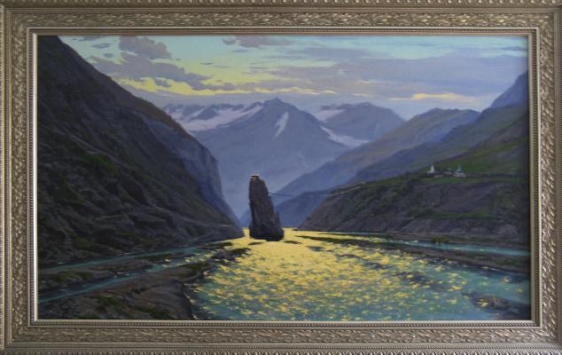 "Artem Yurievich Puchkov. ""Abode of wisdom"" Tibet"