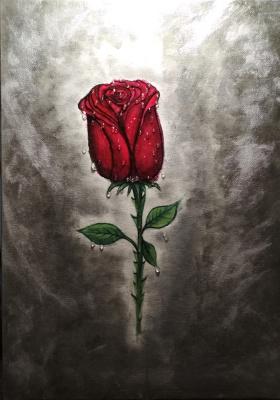 Liliya Vladimirovna Chernykh. Rose flower