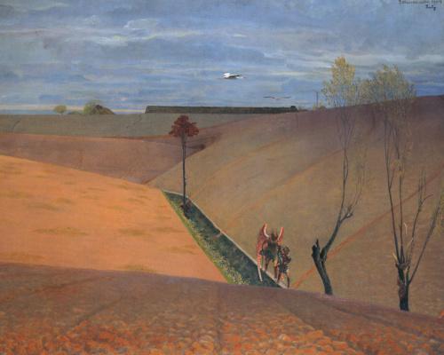 Jacek Malchevsky. Landscape with Tobias
