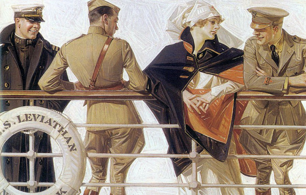 Joseph Christian Leyendecker. On Board