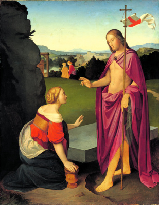 Johann Friedrich Overbeck. Easter morning. Resurrection of Christ
