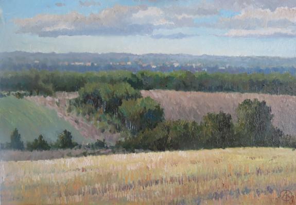 Ольга Акрилова. Fields in Nastasino