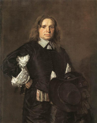 Frans Hals. Portrait of a man