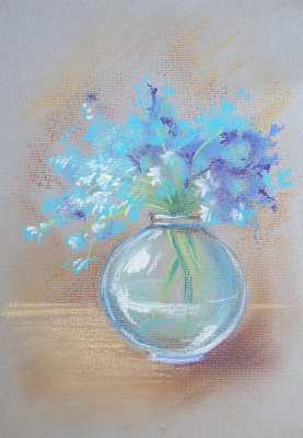 Irina Belyaeva. Cornflowers
