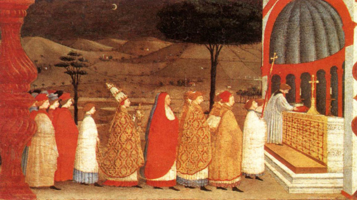 Paolo Uccello. Miracle of the desecrated host 6