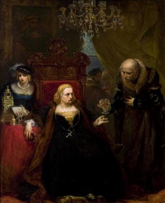 Jan Matejko. Poisoning the Queen Bona