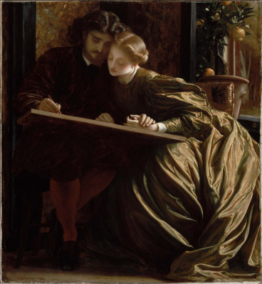 Frederic Leighton. Honeymoon artist