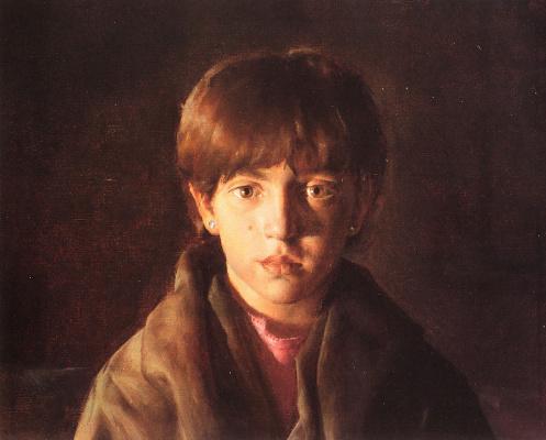 Иаков Коллинз. Мальчик