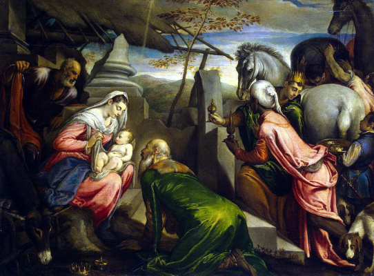 Якопо и Франческо Бассано. Поклонение волхвов