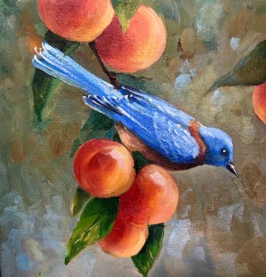 Natalia Shlyakhova. Blue bird
