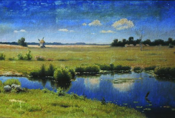Efim Efimovich Volkov. River in Ukraine