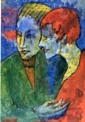 Эмиль Нольде. Мужчина и женщина
