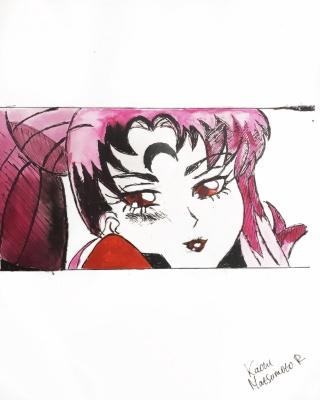 Kaoru Matsumoto. Sailor Moon poster