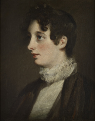 John Constable. Laura Moubray, née Hobson