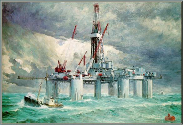 Роберт Лавин. Океан Победы в Северном море