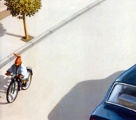 Michael Owl. Biker