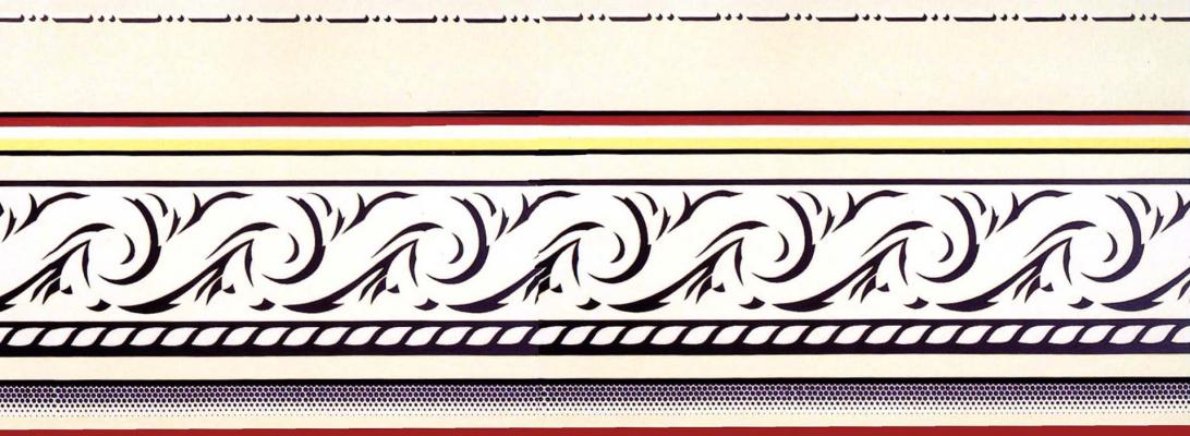 Roy Lichtenstein. The entablature