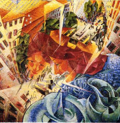 Umberto Boccioni. Plot 31