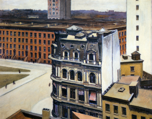 Edward Hopper. The city