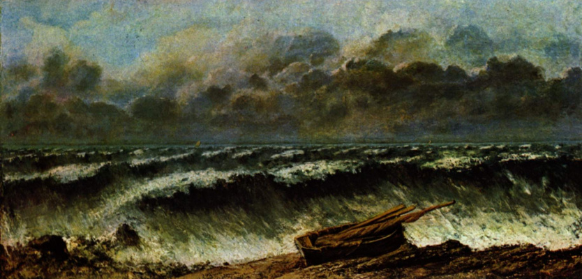 Gustave Courbet. Wave