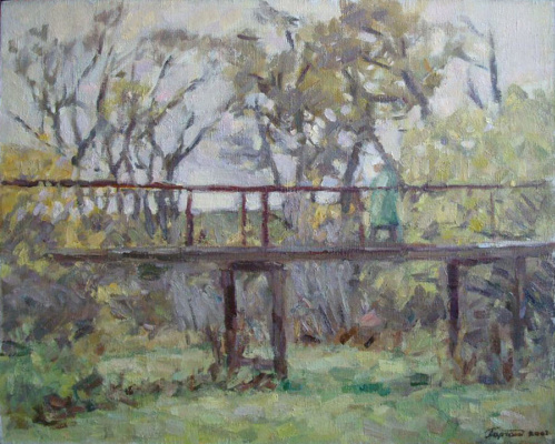 Urii Parchaikin. Near the bridge