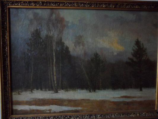 Александр валерьевич петухов. Хмурая весна