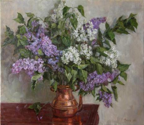 Diana V. Korobkina.. Lilac and copper. 2012