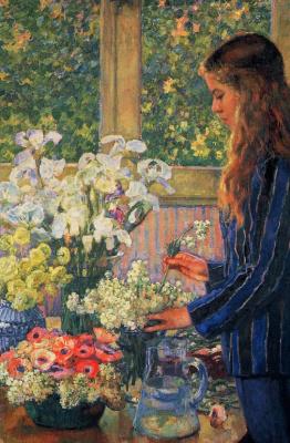 Тео ван Рейссельберге. Садовые цветы