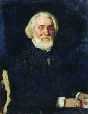 Portrait Of I. S. Turgenev