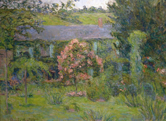 Blanche Oshede-Monet. The house and gardens of Claude Monet