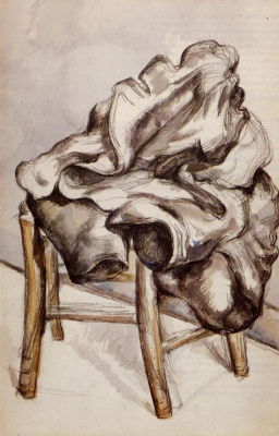 Paul Cezanne. Jacket on a chair