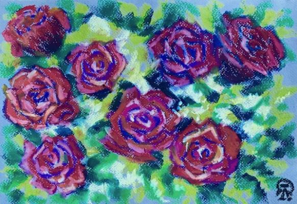 Лариса Луканева. Розы