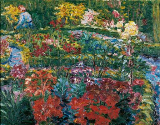 Emil Nolde. Garden in Burchard
