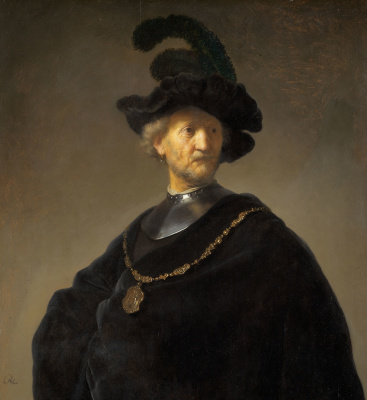 Rembrandt Harmenszoon van Rijn. Old man with gold chain