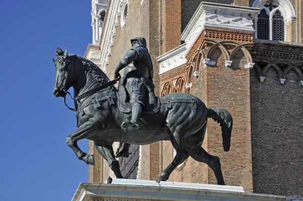Андреа дель Вероккьо. Equestrian statue of Bartolomeo Colleoni