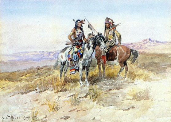 Charles Marion Russell. The plot 11