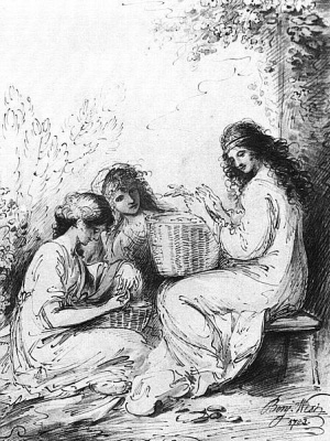 Бенджамин Уэст. Три сестры