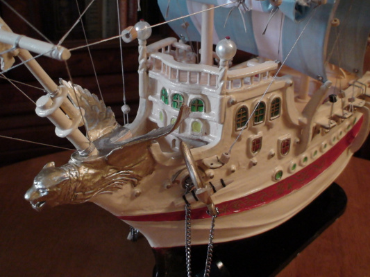 "Vladimir Pavlovich Parkin. Sailing a three-masted Galleon ""St. Apostle Andrew"""