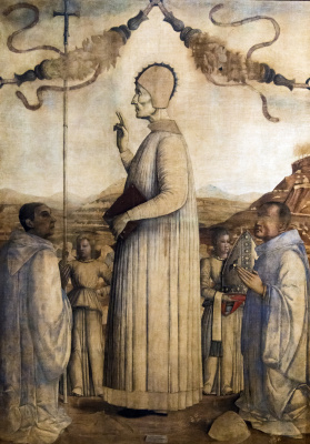 Gentile Bellini. Justinian's Blessing