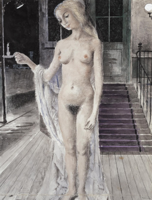 Paul Delvaux Belgium 1897-1994. Cressida. 1967 Private collection
