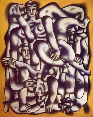 Fernand Leger. Acrobats