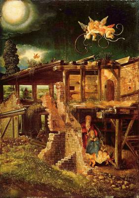 Albrecht Altdorfer. Holy night