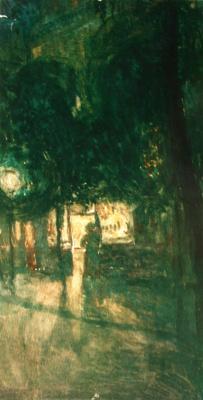 Александр Васильевич Шевченко. «Ночной Париж» 1905-1906