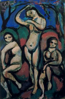 Жорж Руо. Три голые девушки
