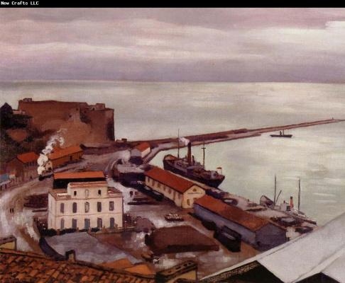 Albert Marquet. Port Boogie